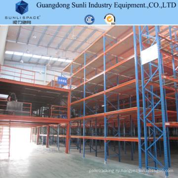 Промышленные стальные панельные шкаф хранения Мезонина с SGS/ISO для склада