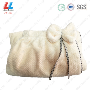 Ladies bath towel washcloths dress style