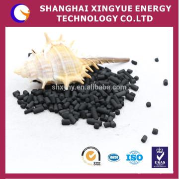 Estructura de poro bien desarrollada Carbón activado a base de columna de carbón para procesamiento de gas