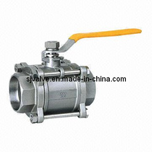 3 Piece Socket Weld Ball Valve