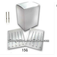 G15 316L aiguille de perçage en acier inoxydable