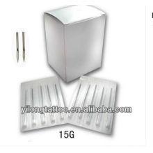 Agulha de perfuração G15 316L inox