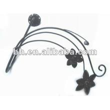 Китайский алюминиевый цветок занавес стены tieback крюк для домашнего украшения