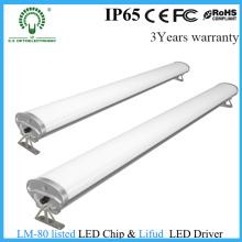 Estacionamento Luz de alumínio IP65 Tri-Proof Light LED