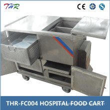Thr-FC004 Stainless Steel Hospital Food Warmer Trolley