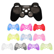 Colorful silicone controller skin case for ps3 wireless controller protective cover