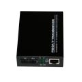 Convertidor de medios de fibra óptica de cobre Gigabit
