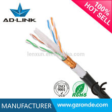 Cable de la red del cobre del cable del cable del utp cat6 lan de la buena calidad de la telecomunicación de la calidad