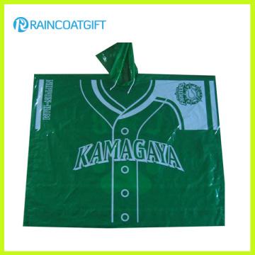 Promotional Disposable PE Raincoats Rpe-088