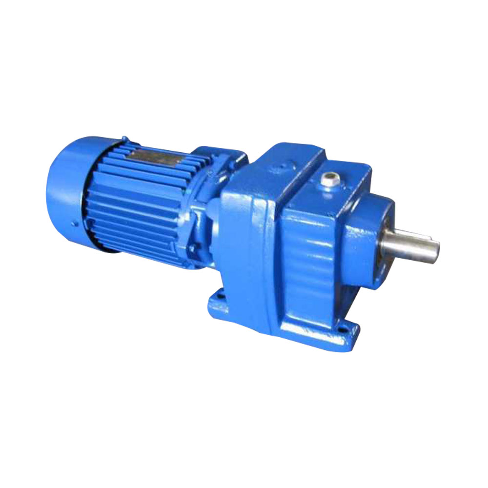 R+Series+Helical+Gear+Electric+Motor+Speed+Reducer