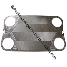 Vicarb Replacement Plate and Gasket for Heat Exchanger