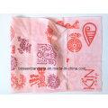 OEM Produce logotipo personalizado impresso Microfiber Sports Girl Pink Paisley Promocionais Headwear Buff