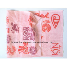 Chine Factory Customized Logo imprimé multifonctionnel sans soudure Bandana