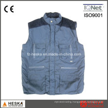 Hot Selling Multi Pocket Waistcoat Cotton Vest