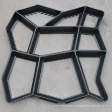fabricante de moldes de plástico y molde de pavimentadora de plástico