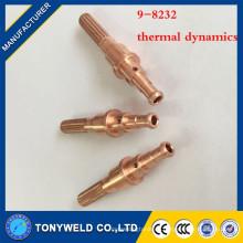 Piezas de la antorcha de plasma 9-8232 electrodo de soldadura de cobre