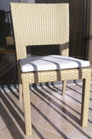 Specific patio dining chair set