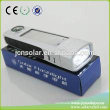 Alibaba Website Portable Solar Power High Power Rechargeable Led Flashlight