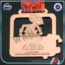 Messing 10k Finisher Bangkok Medaillen