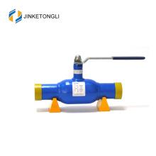 2017 JKTL venta caliente junta de sellado cf8m dn40 válvula de bola para calefacción central y sistema de enfriamiento de agua