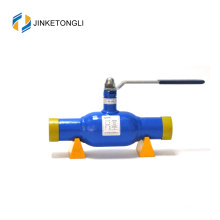 2017 JKTL hot selling soft sealing gasket cf8m dn40 ball valve for central heating and cooling system water