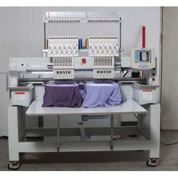 Topwisdom Computer 2 Head Computerized Cap Embroidery Machine