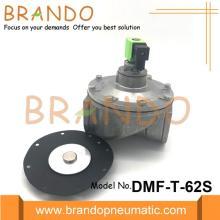 Válvula de pulso pneumático direto de 2 1/2 polegada