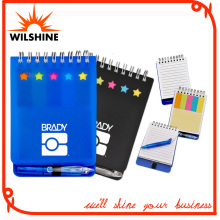 Customized PP Cover Spiral Notebook/Paper Note Pad for Promotion (PPN231)