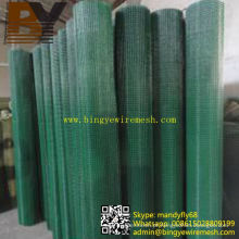 Malha soldada revestida de PVC de alta qualidade