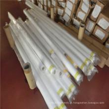 Tecido de malha líquido de nylon branco do filtro