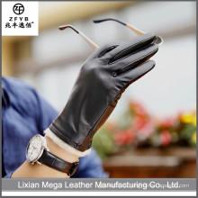 2016 neueste heiße verkaufende Winter-Leder-Handschuh-Männer