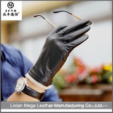 2016 newest hot selling Winter Leather Gloves Men