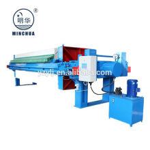 Prensa de filtro de cámara automática llena de Minghua, usada en filtro de aguas residuales