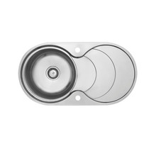 Kitchen Sink With Round Single Bowl Inset product