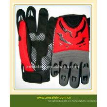 guantes de impacto de cuero sintético JRM19
