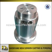 Piston de cylindre d'usinage CNC en alliage d'acier OEM avec plaque chromée