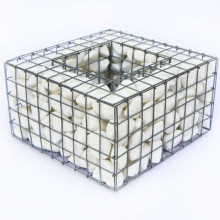 Cheap Galvanized and powdered gabion basket and welded gabion box