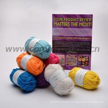 8s / 4 fils acryliques fil tricot à la main fil de crochet pour tricot