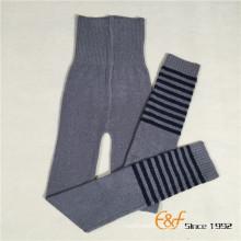 Strip Winter Unisex Knitted Haramaki Long Pants