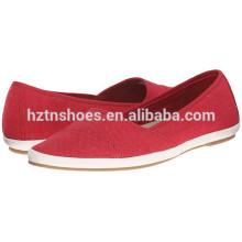 Женщин дешевые Холст Чистка Китай завод Оптовая Холст обувь