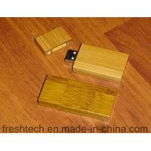 Eco-Friendly de moda de bambú y madera de estilo USB Flash Drive (D804)