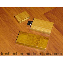 Eco-Friendly moda bambu e madeira estilo flash drive USB (d804)