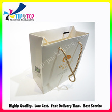 Paper Material and Stamping Printing Handling Luxury Gift Bag