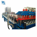 Máquina formadora de rollos en frío de paneles de azulejos esmaltados