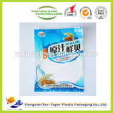 sea food recyclable plastic packaging bag