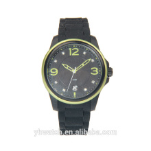 2017 New Arrive Special Design Custom Mens Silicone Alloy Watches