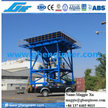 Port Machine Hydraulic Support Legs Bulk Cargo Unloading Hopper