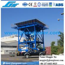 Port Machine Pernas de suporte hidráulicas Bulk Cargo Unloading Hopper