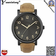 Yxl-379 Simple Design Military Watch Leather Strap Quartz Vogue Wristwatch Mens Fashion Watches Casual Sport Wrist Watch Clock