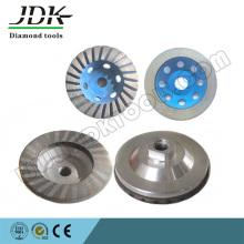 Dcw-4 Diamant-Cup-Rad für Stein-Polierwerkzeug